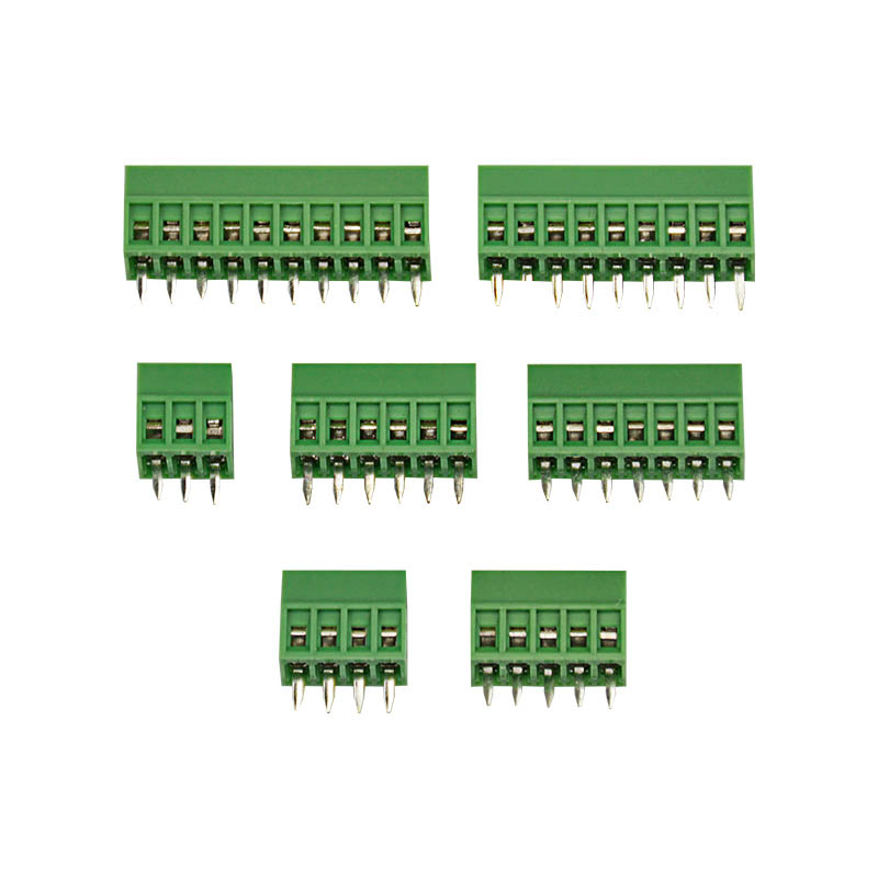 10Pcs PCB Universal Screw Terminal Blocks Connector 2.54MM Pitch PCB Mount Screws 2P-10P hobby world hobby world