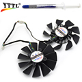 New 95MM firstd FD9015U12S DC 12V 0.55A 5PIN Dual Cooling Fan For ASUS sTRIX GTX970 980 780 STRIX-R9285  Graphics Card Fans