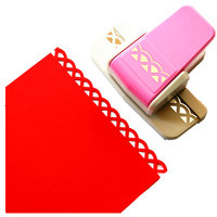 Free Shipping New Style Fancy Border Punch Number 5 Foam Paper Embossing Punch Scrapbooking For DIY