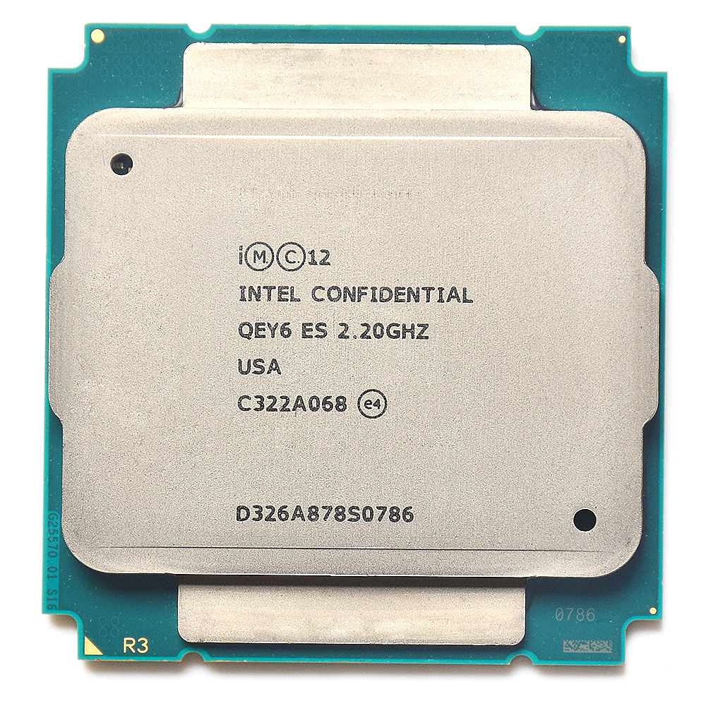 QEY6 XEON E5 ES engineer sample of XEON E5 v3 <font><b>2695v3</b></font> 2695 V3 2683 V3 x99 motherboard socket 2011 v3 image