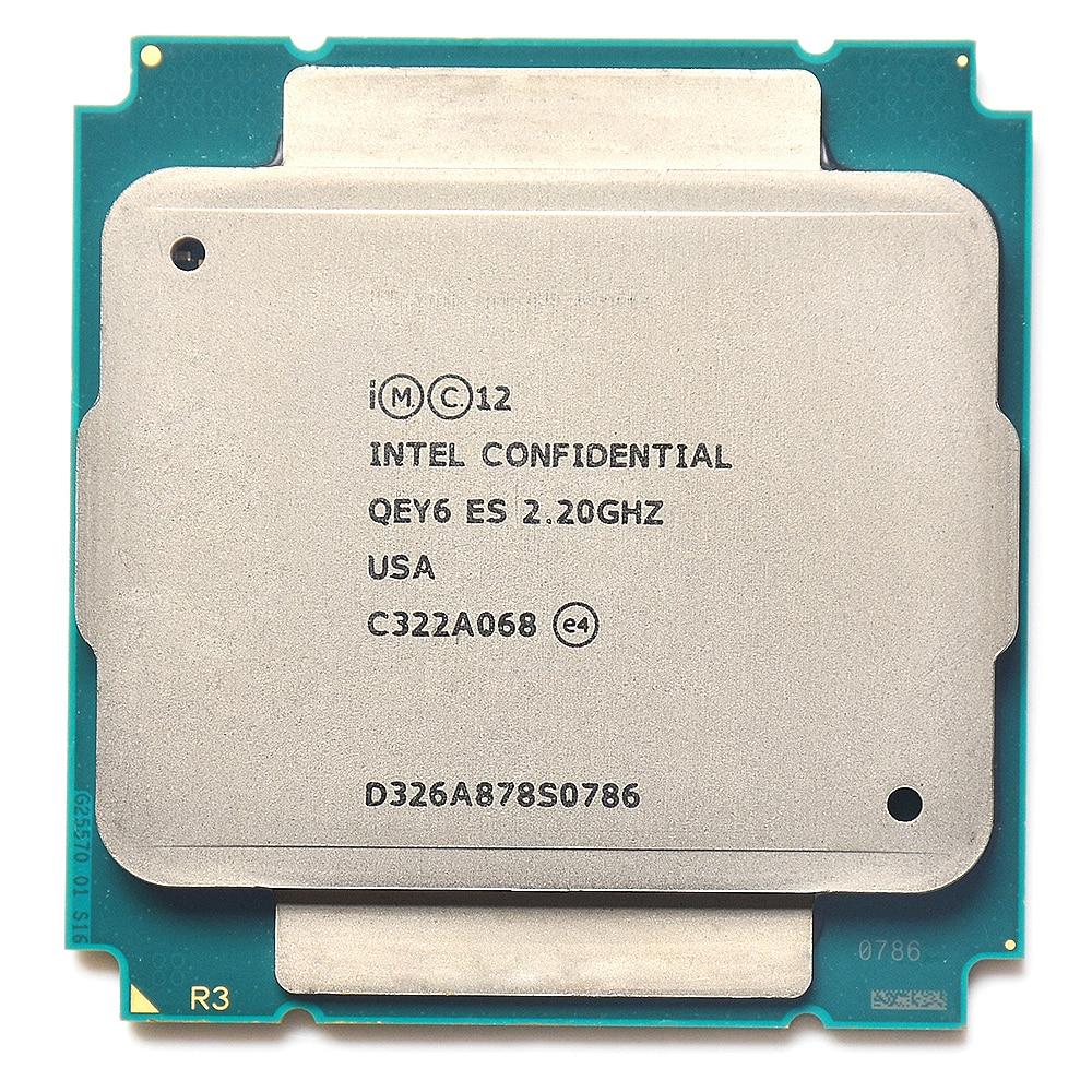 QEY6 XEON E5 ES ingénieur échantillon de XEON E5 v3 2695v3 2695 V3 2683 V3 x99 carte mère socket 2011 v3
