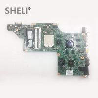 SHELI FOR HP laptop motherboard DV6 DV6 3000 series Mobility Radeon HD 5650 631082 001 DDR3 Mainboard daolx8mb6d1 Free Shipping