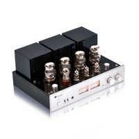 NEUE MUZISHARE Neue X7 KT88 Push-Pull rohr verstärker GZ34 Lampe Amp Besten Verkauf Mit Phono und Fernbedienung