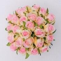 Ücretsiz Nakliye, Yeni Moda 26 Başkanları/Bunch Pembe Yapay İpek Çiçek Güller Vecize DIY Düğün Gelin Buketi Çiçek 25 cm (HT39)