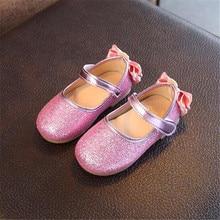 Princess Shoes Toddler Moccasins Glitter Party Girls School Kids Fashion