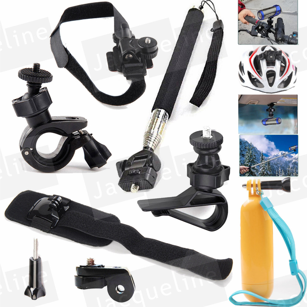 For Ion Air Pro 2 3 Accessories Kit Mount for Sony Action Cam Midland Polaroid Contour