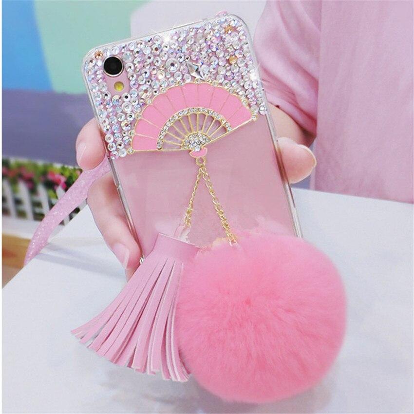 For-Samsung-J3-J5-J7-Prime-2016-2017-Pro-Glitter-Bling-Fan-Rhinestone-Phone-Case-Soft (5) -