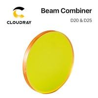 Laser Beam Combiner lens Diameter 20mm 25mm for CO2 Laser Engraving Cutting Machine to Adjust Light Path and Make Laser Visible