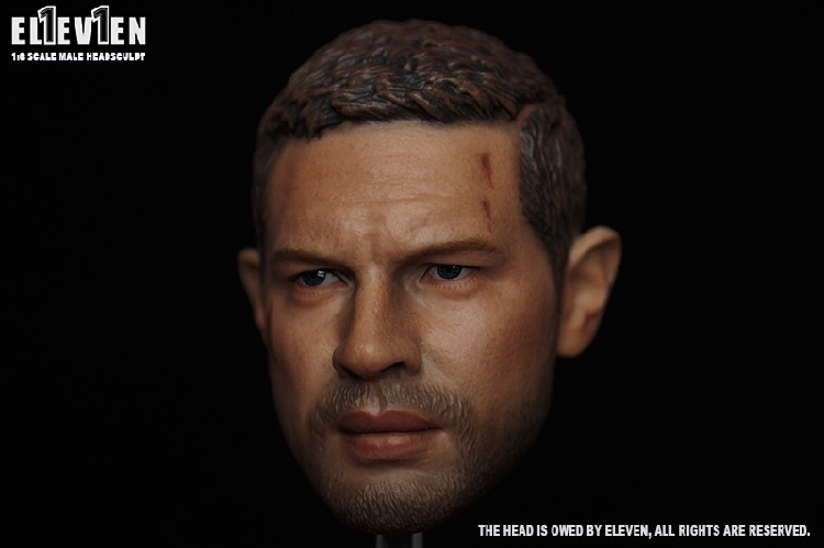Eleven 1/6 Scale Soldier Head Carving Mad Max Head Carving Tom Hardy for 12 Action Figure Collection Gifts фигурка planet of the apes action figure classic gorilla soldier 2 pack 18 см