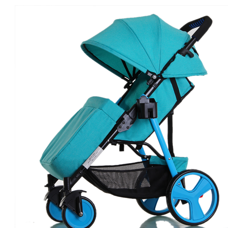 NEW 3 Colors Portable Foldable Baby Lightweight Strollers With Linen Cover,Baby yoya Stroller,poussette pliante portable,5.8Kg