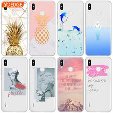 Pineapple Case For Huawei P8 P9 P10 Plus P20 Mate S 10 Lite Honor 7A Pro Mini Y6 2017 Y7 G8 PSmart Nexus 6p nova 3i Dolphin Case(China)
