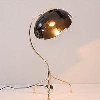 Skandinavischen eisen tisch lampe design kreative lampen wohnzimmer schlafzimmer bett studie individuelle tisch lichter gold schwarz FG875-in Tischlampen aus Licht & Beleuchtung bei