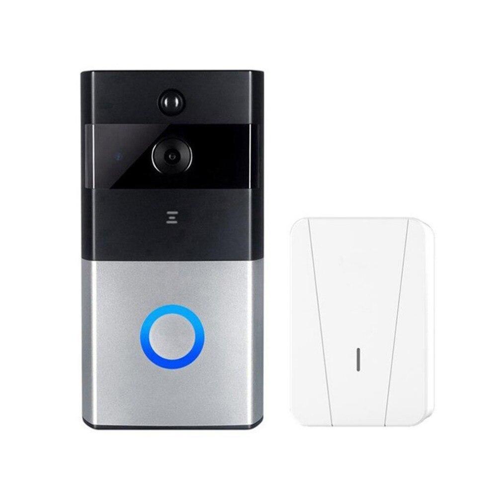 M1 профессиональный домашний безопасности Беспроводной IP дверной звонок 720 P инфракрасный Ночное видение Камера обнаружения движения сигна...
