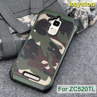 Luxury Army Camo Camouflage Hybrid Armor Capa Cases For Asus Zenfone 3 Max ZC520TL 5 2