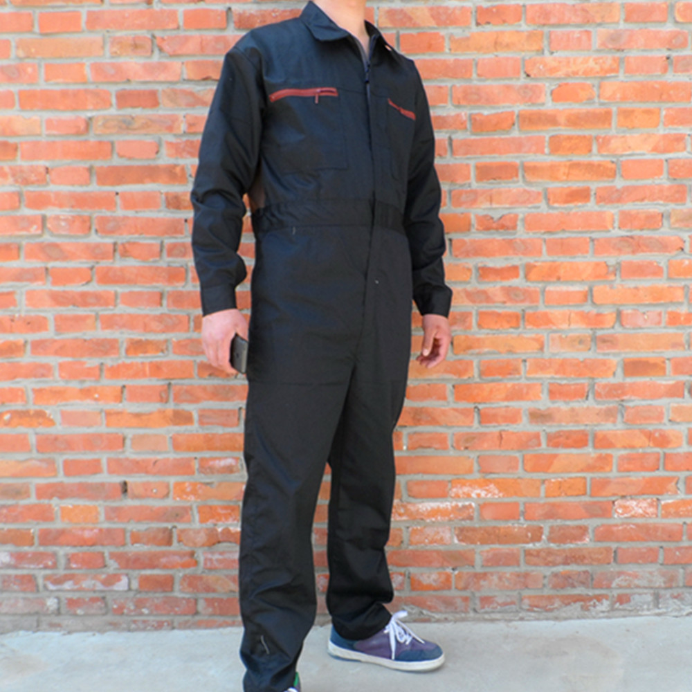ФОТО Mens Work Clothing Long Sleeve Coveralls High Quality Overalls Worker Repairman Machine Auto Repair Electric Welding Absenteeism