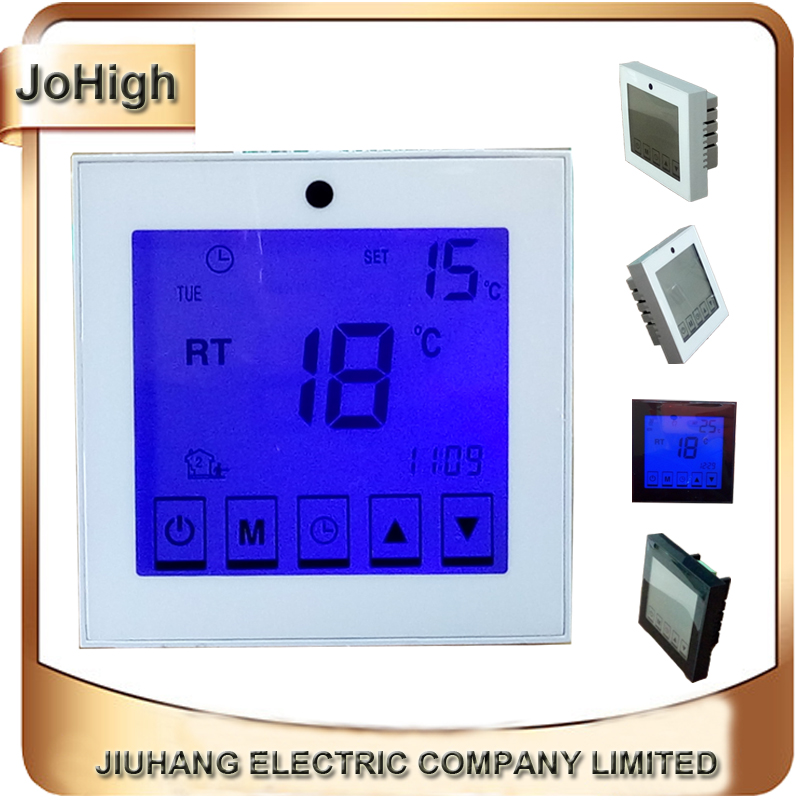 Electric /Water Warm Touch Screen Thermostat Warm Floor Heating System Thermoregulator 220V Temperature Controller hot sale digital boiler electric heating temperature instruments thermostat thermoregulator 16a air underfloor with floor sensor