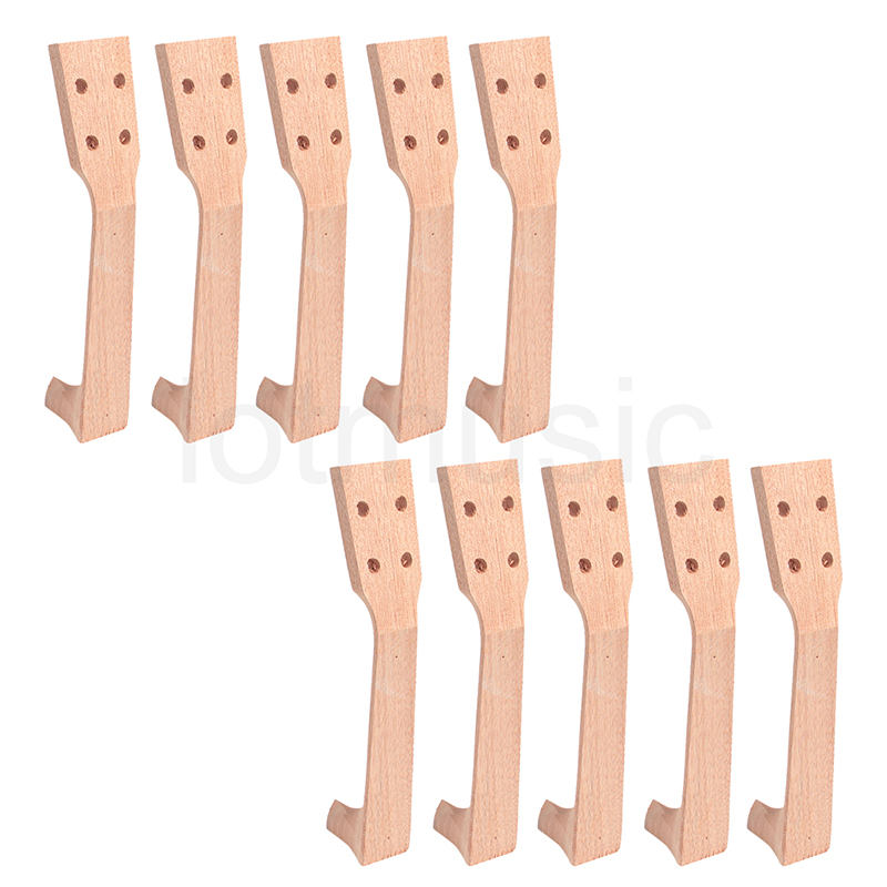 Soprano Ukulele Neck for 21 Inch Ukelele Uke Hawaii Guitar Parts Luthier Diy Pack of 10