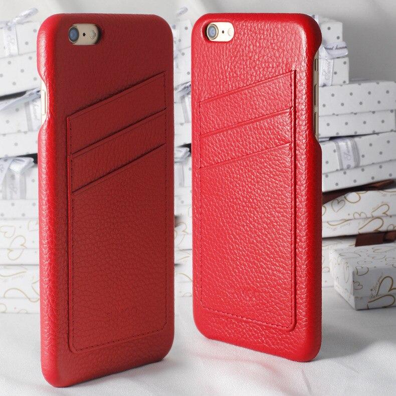 Une Douzaine Sumgo Haute Qualité Vintage De Luxe En Cuir Téléphone Cas Pour Apple IPhone 6 6 s Couverture Mobile Téléphone Accessoires cas