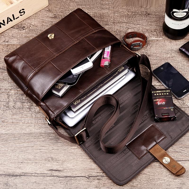 Cobbler Legend England Herren Schultertasche Leder Herren - Handtaschen - Foto 2