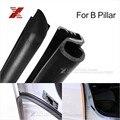 2 шт./лот автомобиль уплотнительную газа для B столб шума ветрозащитный дверь резиновое уплотнение газа стайлинга автомобилей с 3 м клей