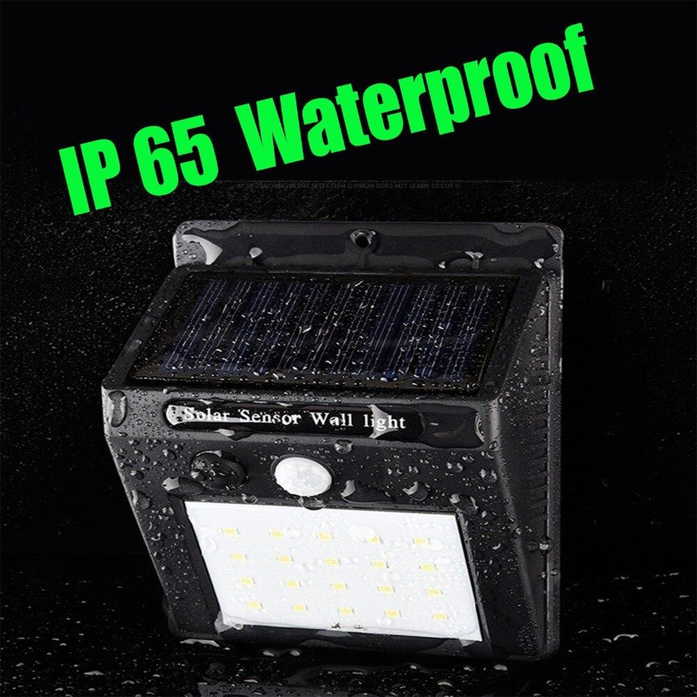 Solar Lights Extra Bright: LED Solar Light Waterproof IP65 Outdoor Lighting Night