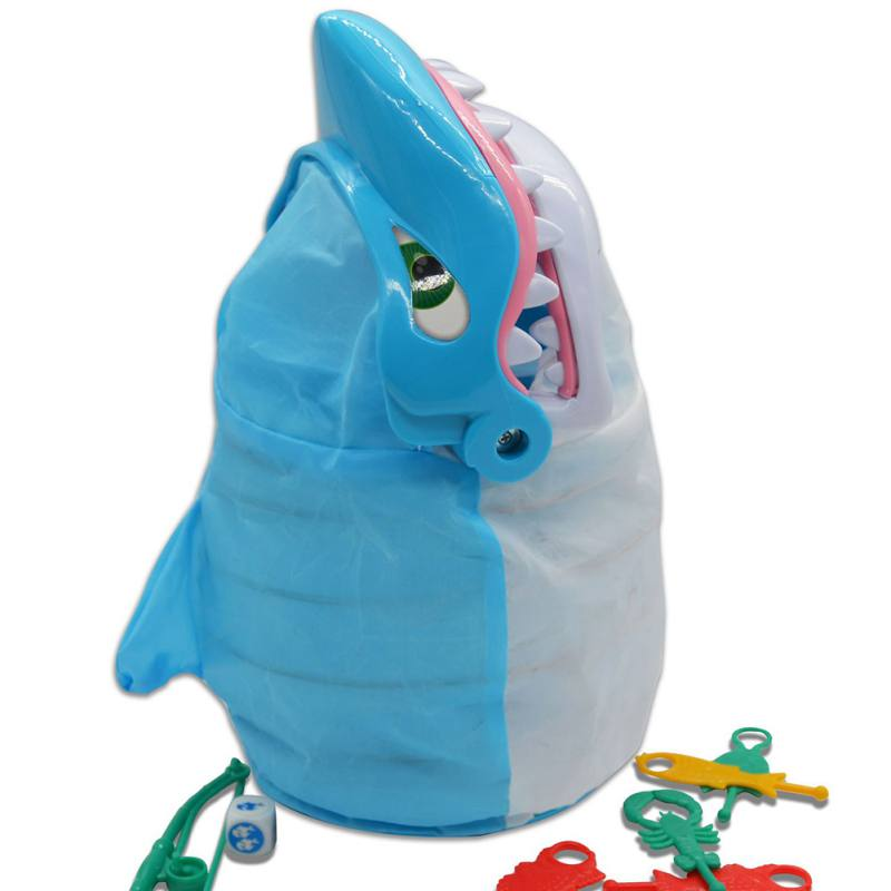 Try To Catch The Most Fish And Sea Creatures From The Mouth Of The Shark Parent Child Interaction Game Toys hot HOT