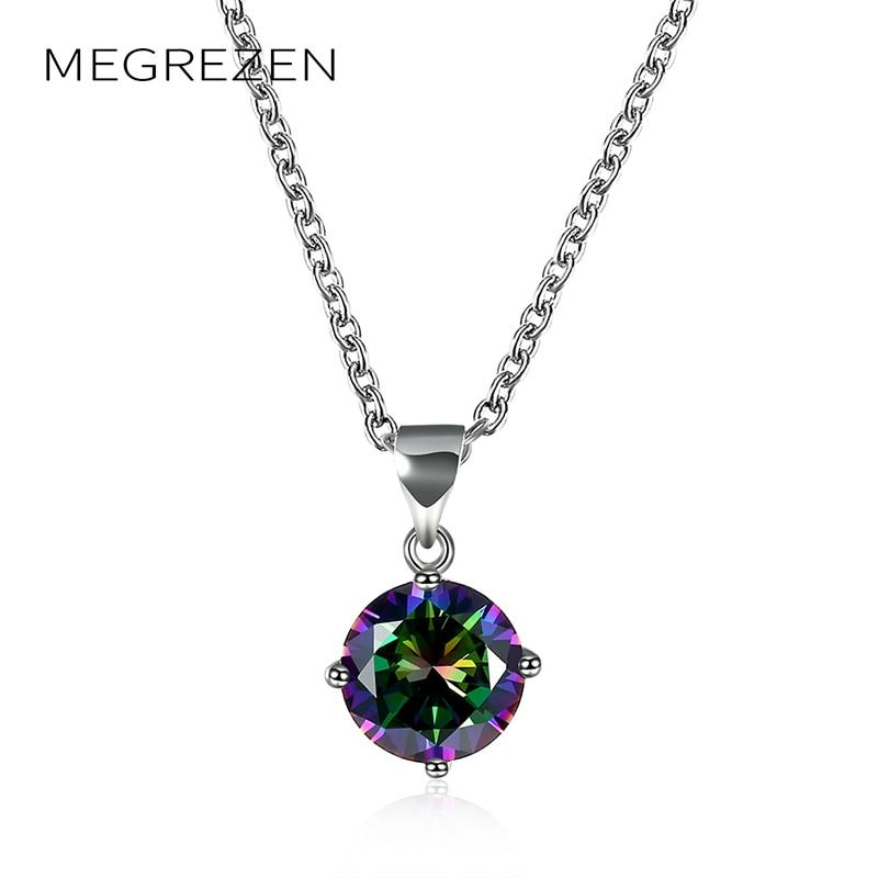 Bohemian Crystal Choker Necklace On A Neck Women Friends Pendants Round Jewellery Dia De La Madre Regalos N929-5