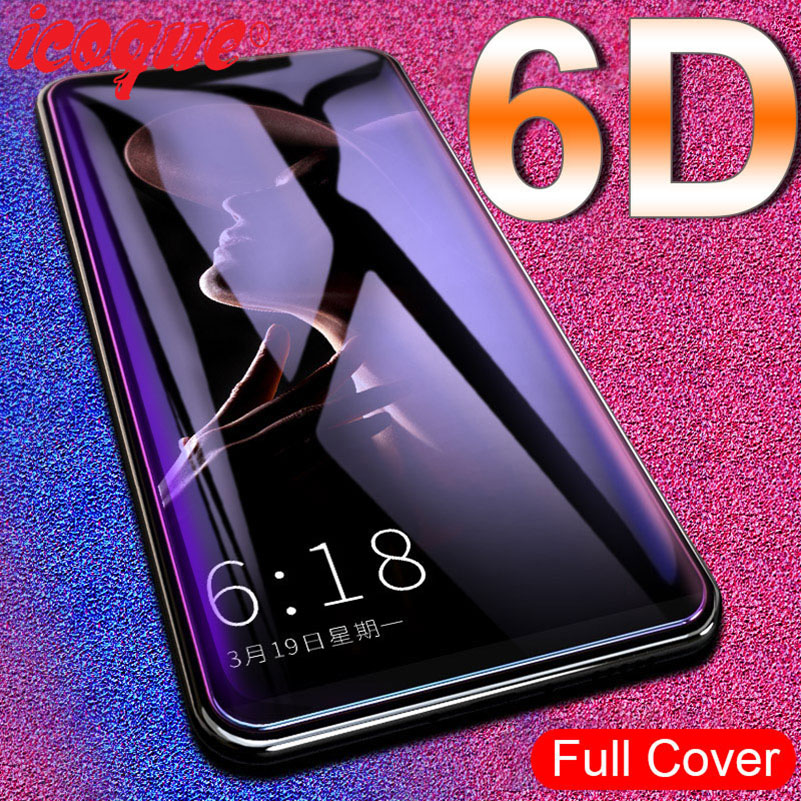6D Glass For OPPO Reno 2 Z 2Z Ace Realme Q 5 3 XT X2 Pro X 5s Screen Protector Tempered Glass For OPPO A5 A9 2020 Realme 5 3 Pro