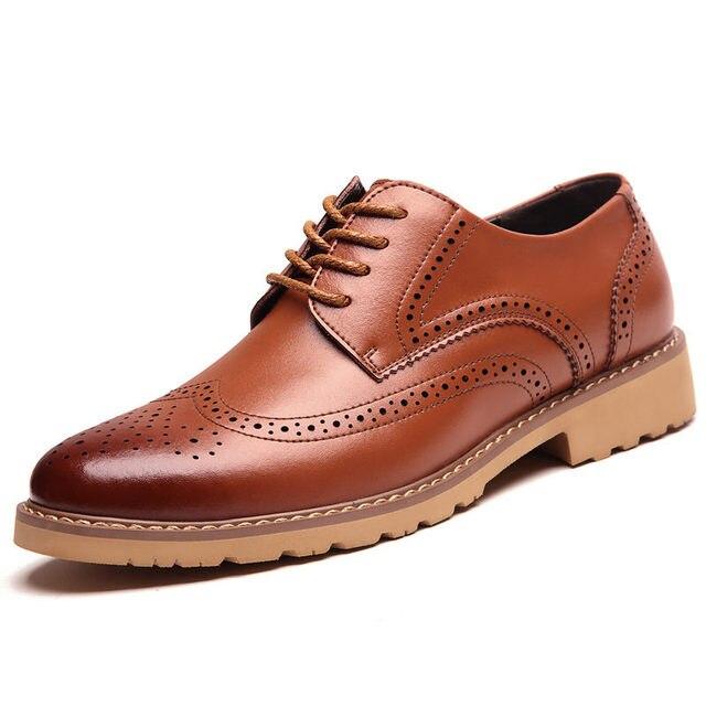 Yellow Brogue Shoes