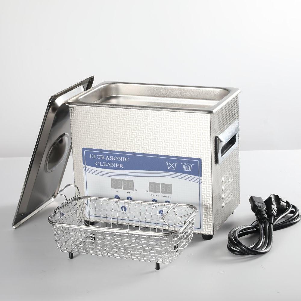 3L ультразвуковой очистки Нержавеющаясталь коммерческих настольной машины ультразвуковой очистки