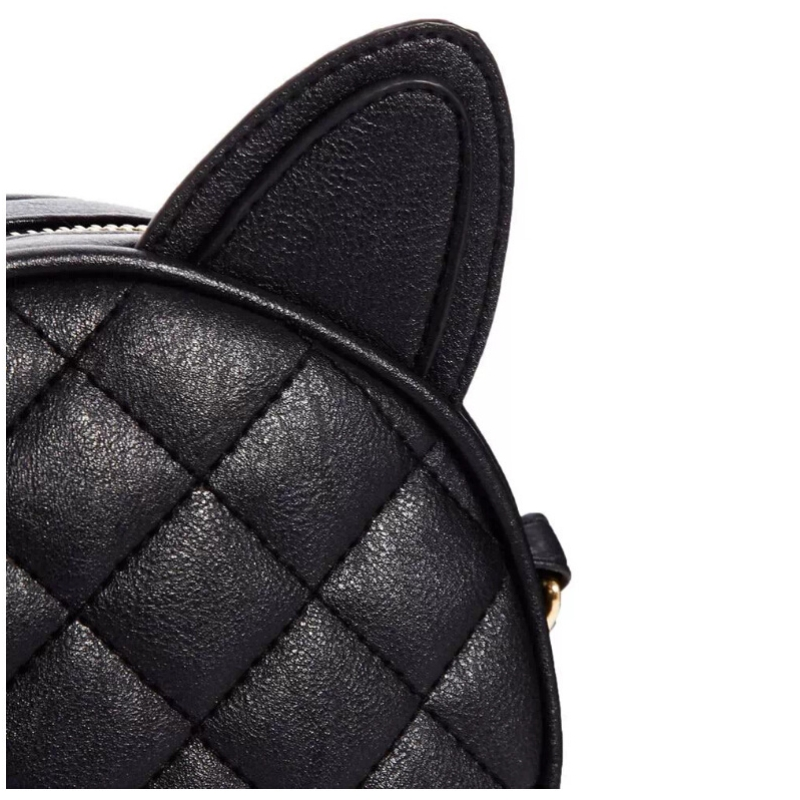 atravessadas qrid orelha de gato Bolsa Feminina : Female Bag; Round Bag, Circular Bag