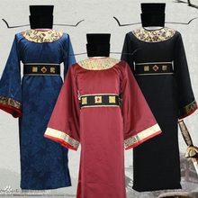 bdb6f873e3 ancient minister robes for men Magistrate cosplay han fu han dynasty costume  for men china song