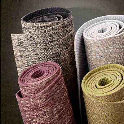 Orgánica yute yoga mat, naturaleza yoga mat envío gratis y durable bolsa de transporte