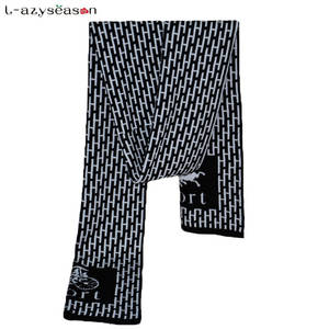 L-azyseason 2018 Winter Warm Cotton knitted Scarves for man