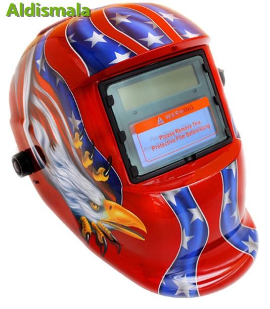 Aldismala Eagle Solar Auto Darkening MIG MMA Electric Welding Mask/Helmet/Welding Lens for Welding Machine or Plasma Cutter Price $26.57