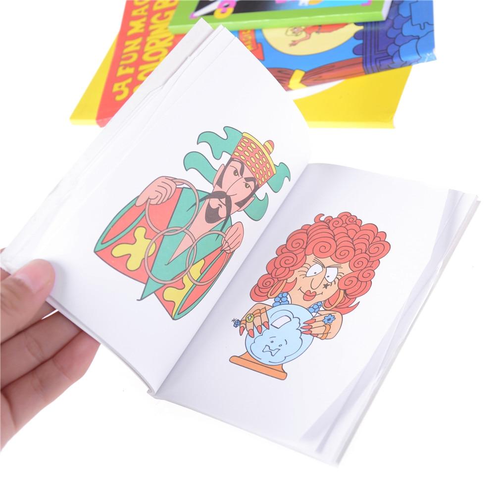 141 16 De Descuentogran Venta De Libros De Dibujos Animados Para Colorear Mágicos Divertidos Libros De Pintura De Aprendizaje Para Niños