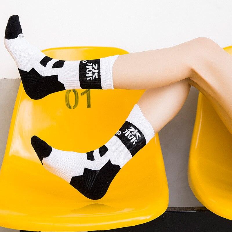 Fashion Men Women Cycling Socks Sports Skateboard Roller Skating Basketball Comfortable Cotton Towel Socks Health For Foot