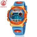 Ohsen marca niños deportes relojes led digital de cuarzo reloj de pulsera del relogio masculino impermeable al aire libre as16