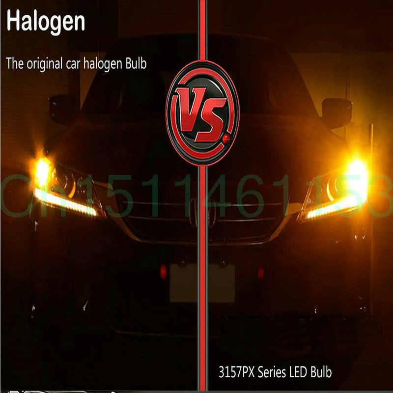 EUR Front bật đèn tín hiệu Cho Renault Master2 3 Megane2 3 Modus SANDERO thay thế chỉ số ánh sáng bau15s canbus 2 cái
