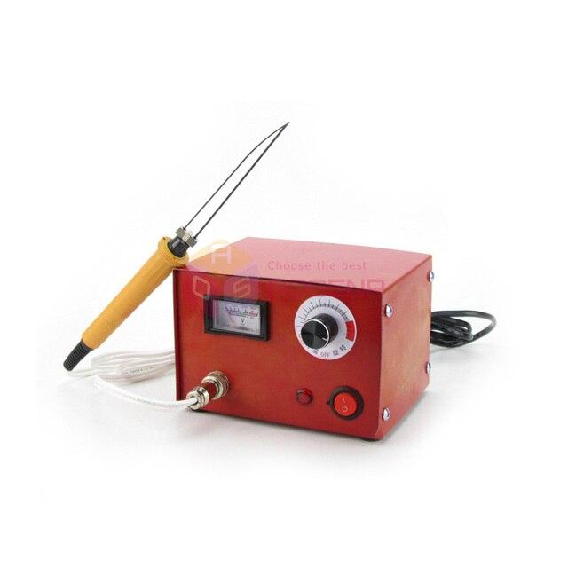 220V NEW Hot Wire Styrofoam Cutter Electric Hot Knife Foam Heat Cutter Fabric Cloth Rope Cable Cutting Machine