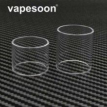 Original VapeSoon 3pcs Replacement Glass Tube For Digiflavor Pharaoh Mini RTA Tank 2ML/5ML Version Tank Retail Package