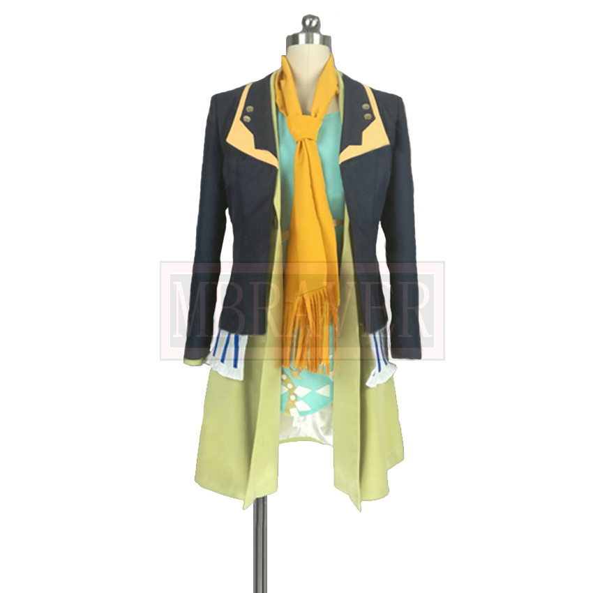Palette Parade Renoir Cosplay Costume Uniform Custom Made For Halloween Custom Made Any Size