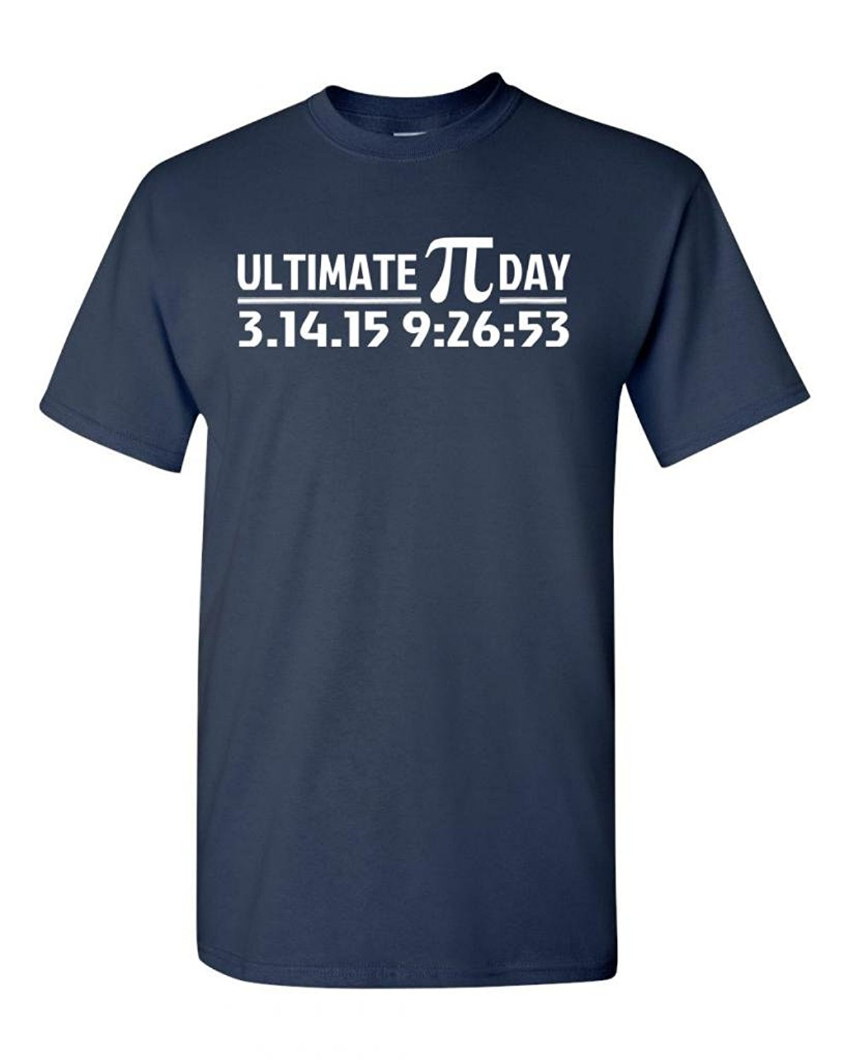 Ultimate PI Day 3.14 2015 Math Geek DT Adult T-Shirt Tee