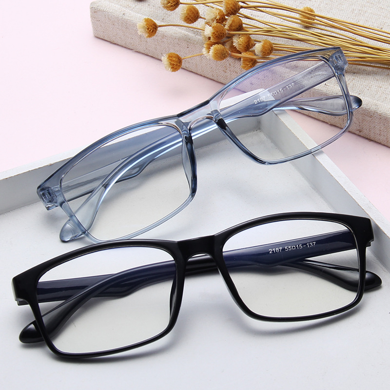 Fashion Square Small frame Men and Women Sunglasses Transparent Jelly Glasses Light and Comfortable Leopard pattern multicolor