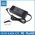 For HP Pavilion 15 Notebook PC 15-e029TX 19.5V 4.62A 90W Power Supply Battery Charger Power Adapter 4.5mm*3.0mm(blue)