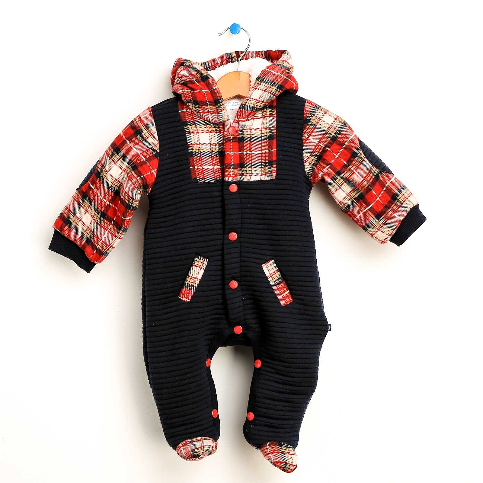 Ebebek For My Baby Boy Aristo Hoodies Long Sleeve Romper Toddler Boy Clothes Winter Christmas Vestidos Newborn Clothes