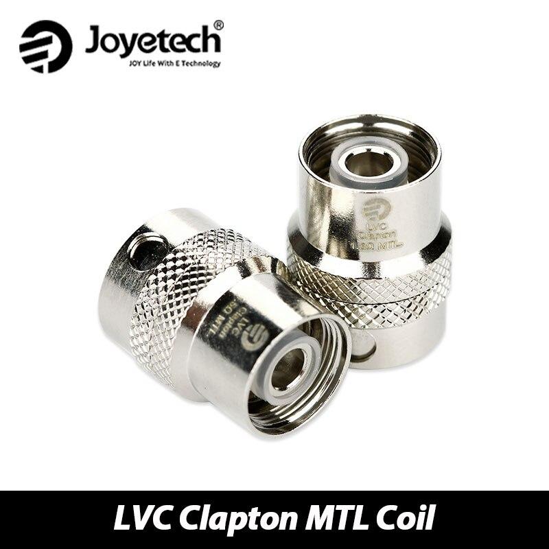 25pcs Joyetech CUBIS LVC Coil CUBIS Pro eGO AIO LVC Clapton MTL Head 1 5ohm Resistance