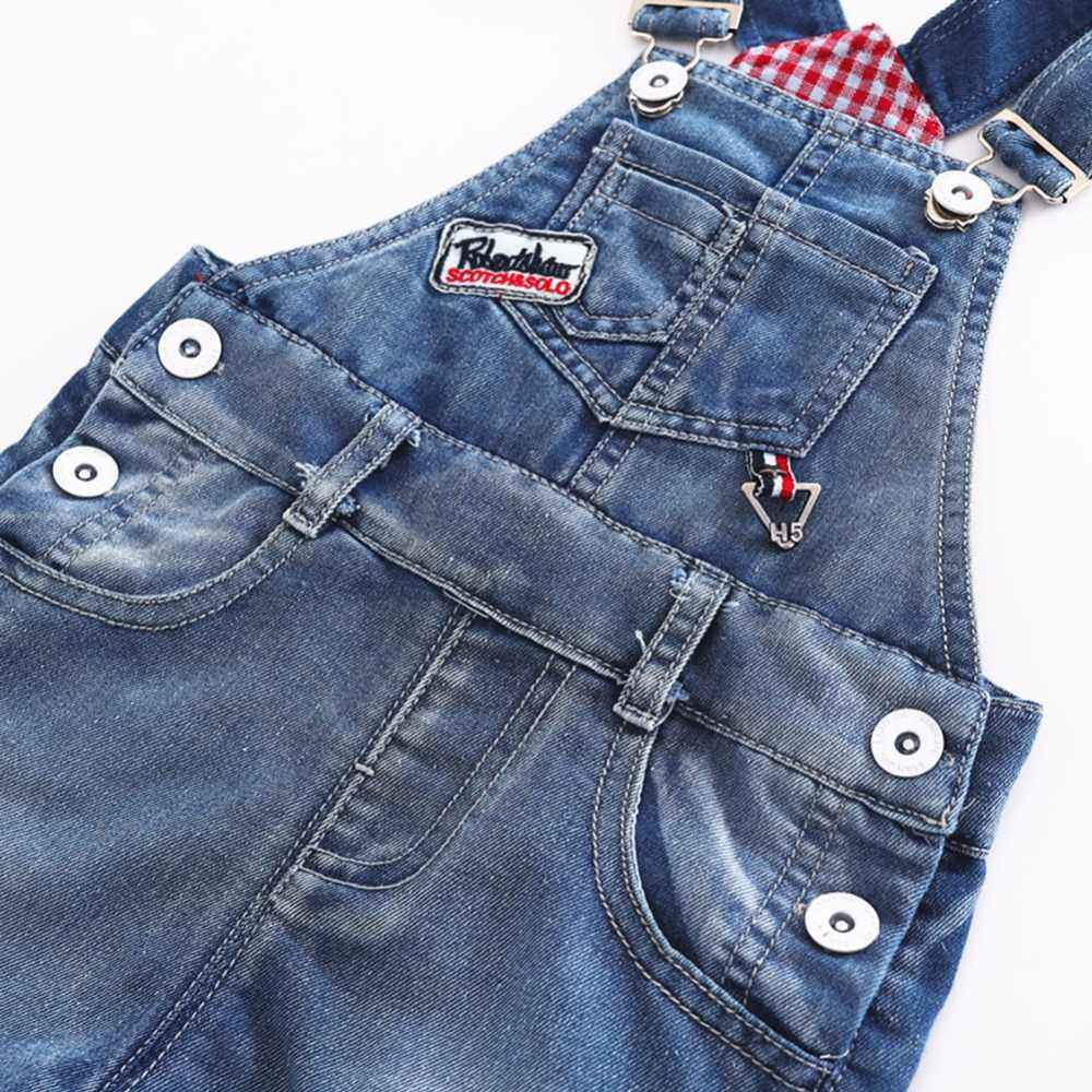 c159bd7e10f5f 9M-4T Baby Summer Jeans Overalls Infant Shorts Toddlers Kids Denim Rompers  Baby Boys Girls Short Jumpsuit For Children Clothing