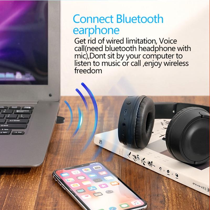 USB Bluetooth адаптер приемник V5.0 для PS4 компьютера ПК мышь беспроводной мини USB Bluetooth ключ 5,0 для музыкальный приемник с динамиком
