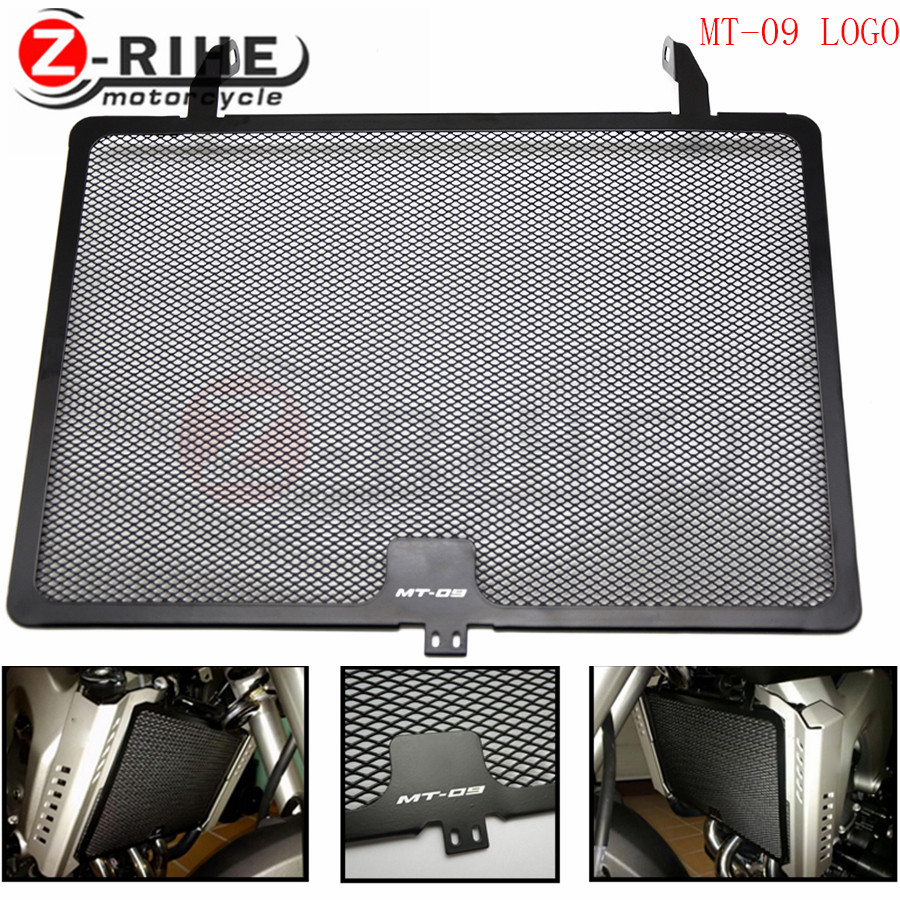 for MT-09 MT09 motorcycle cnc Aluminium Radiator Side Guard Grill Grille Cover Protector For Yamaha YZF R1 YZF R6 FZ1 FAZER R6S for yamaha yzf r1 2004 2005 2006 yzf r1 radiator grille protective grille cooler guard cover